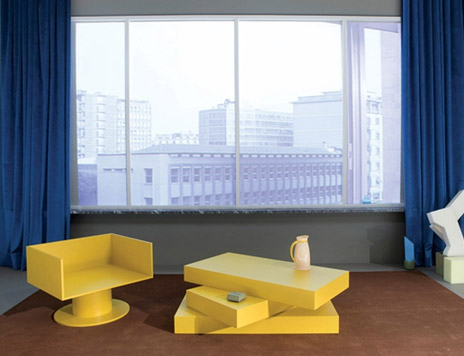 model home rem koolhaas unveils knoll prototypes at prada contemporary office fit out - Commercial Interior Design Blog