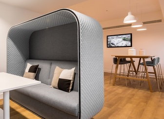 Modern office refit - contemporary interior architecture